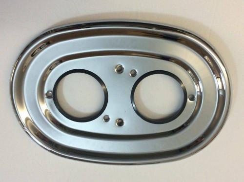 Trevi A962102AA Outline Therm Back Plate Chrome Finish FTB11186 5055639156159