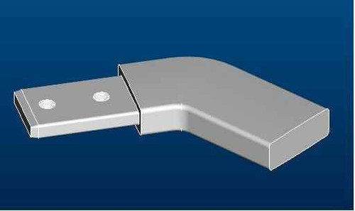 Ideal Standard Lv927Aa Synergy Wr Clamp Angle Chrome Finish FTB10108 5017830525806