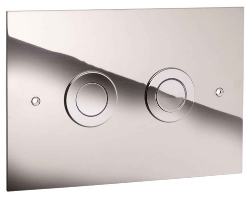 Ideal Standard Vv639864 In Wall Frame Trend Dual Flush Plate Chrome Finish FTB10264 4015413557085