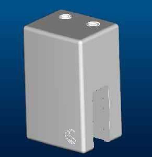 Ideal Standard Lv925Aa Synergy Wr Glass Clamp Chrome Finish FTB10294 5012001220252