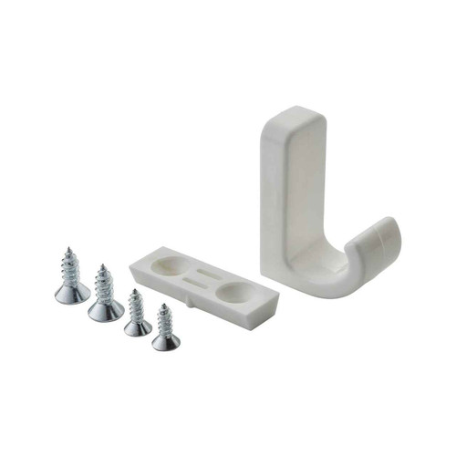 Armitage Shanks S5093AC¬Customer care product only Screw to wall clothes hook White finish FTB10373 5017830484097