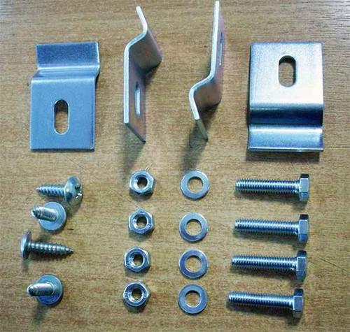 Ideal Standard T645567 Under Countertop Oval Basin Fixing Kit Neutral Finish FTB10533 3800861029373