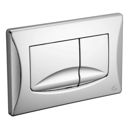Ideal Standard Vv638584 River Mechanical Dual Flush Plate Chrome Chrome Finish FTB11332 4015413526968