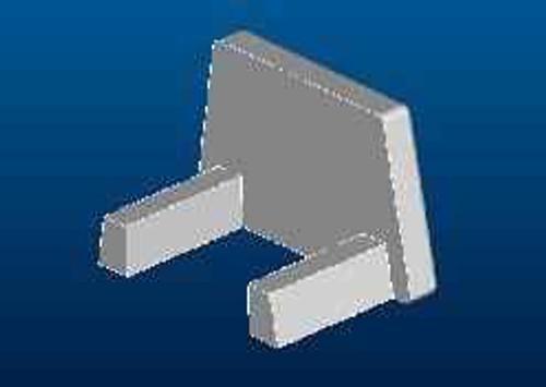 Ideal Standard Lv923Aa Synergy Wr Bottom Al End Cap Chrome Finish FTB11491 5017830433613