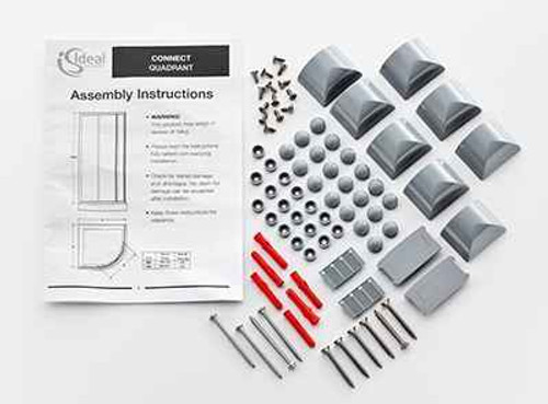 Ideal Standard Ee726753Ah Connect Quadrant Moldings Pack Grey Finish FTB11521 5055639159501