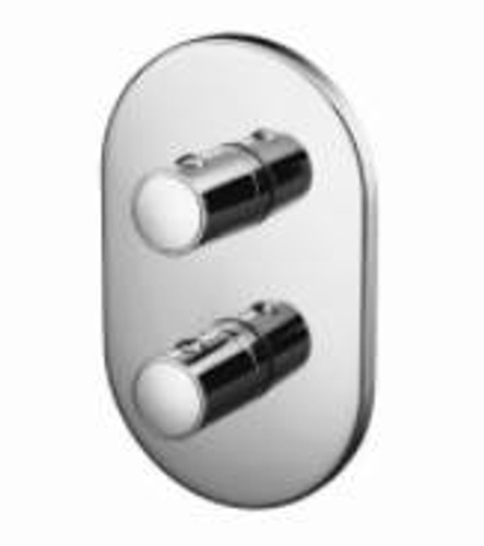 Ideal Standard A3971AA TT Ascari Faceplate And Handles For Built-In Thermostatic Shower Valve FTB11642 A3971AA