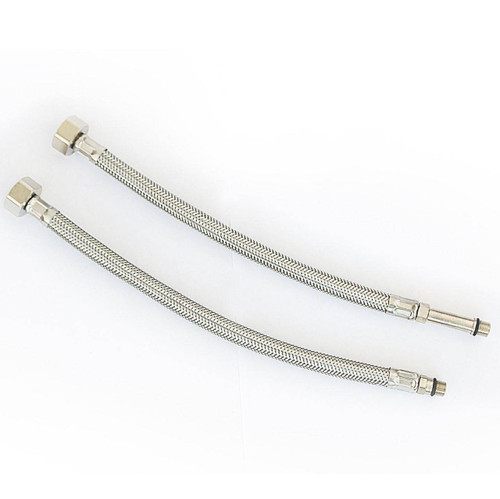 SSH7/A Viva 1/2 BSP X M10 Monobloc Flexible Tap Connectors 300mm Pair FTB5236 5060262731062