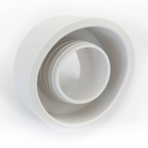 Viva PP0004/B External flush cone in white rubber FTB5277 5060262730355