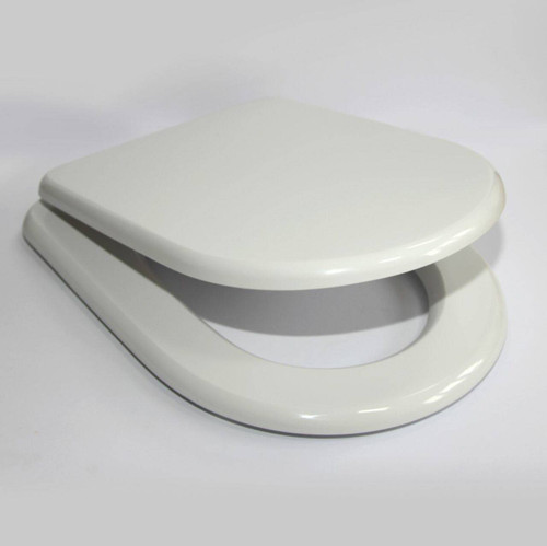 Vitra Luna Resin Replica Seat in White chrome hinges full fitting kit FTB2960 5055639143074