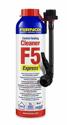 Fernox F5 Central Heating Cleaner 280ML Express FTB5326 5014551582309