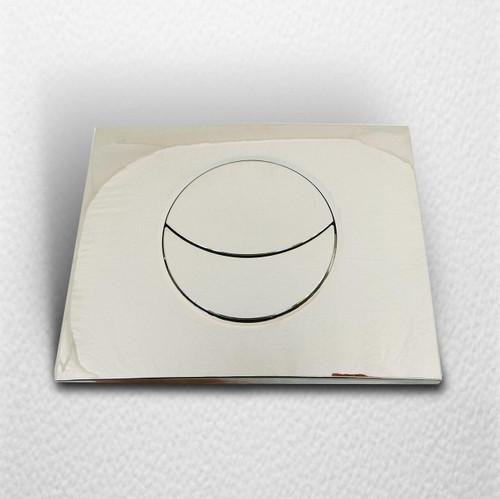 WIRQUIN 50718122 Moon control plate shiny Chrome FTB1340 3375537180813