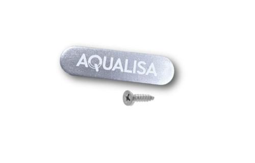 Aqualisa 213024 Aquavalve 609 27mm Badge Silver FTB6426 5023942007796