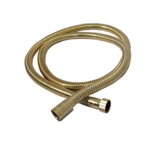 Aqualisa 164517 1.50m metal shower hose - gold FTB6561 5023942006782