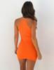Women Sleeveless Knitted Bodycon Dress 2019 Summer High Elastic Slim Sexy Halter Mini Dress Vestidos