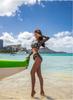 Surfing Swimsuits For Women Bath Suits Windsurfing Swimsuit Girls May Women's Beach Rashguard Long Sleeve Trousers Three Piece