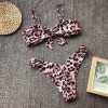 Sexy Bikinis 2019 Mujer Leopard Thong Micro Bikini Push Up Swimsuit Separate May Women Swimwear Female Tankini Swimming Suit