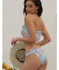 Bandage Bikini female 2019 Sucking Swimwear Women Bathing Suits High Quality Swimsuit Print Tankini Push Up Bikini Set