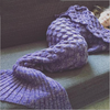 Mermaid tail blanket PW - palaceofchic