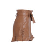 Leather high waist shorts - wantmychic