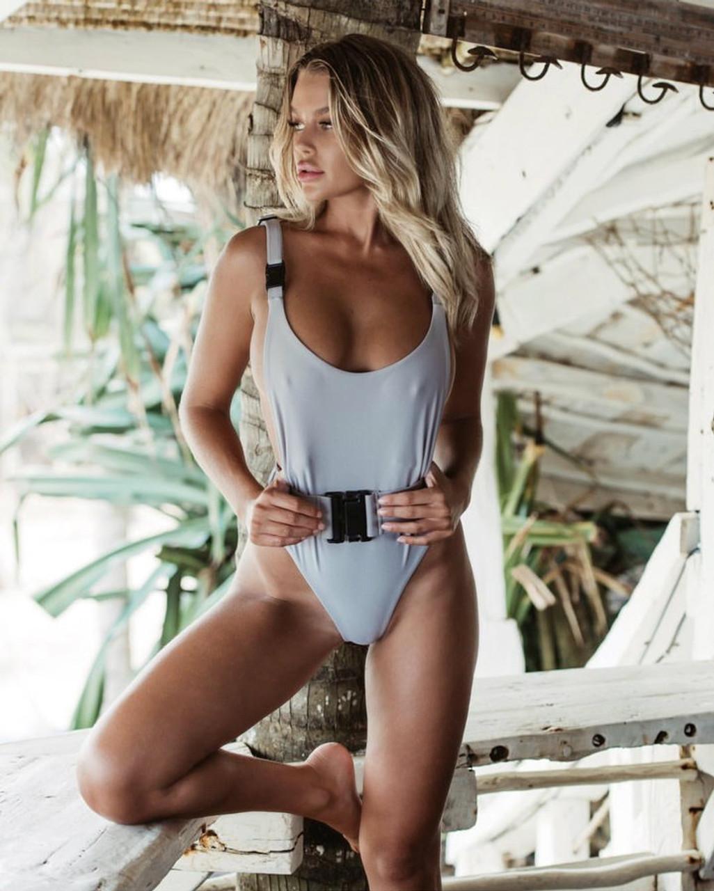 Swimsuit 2018 Swimsuits Bathing Suit Women Sexy Belt Buckle
