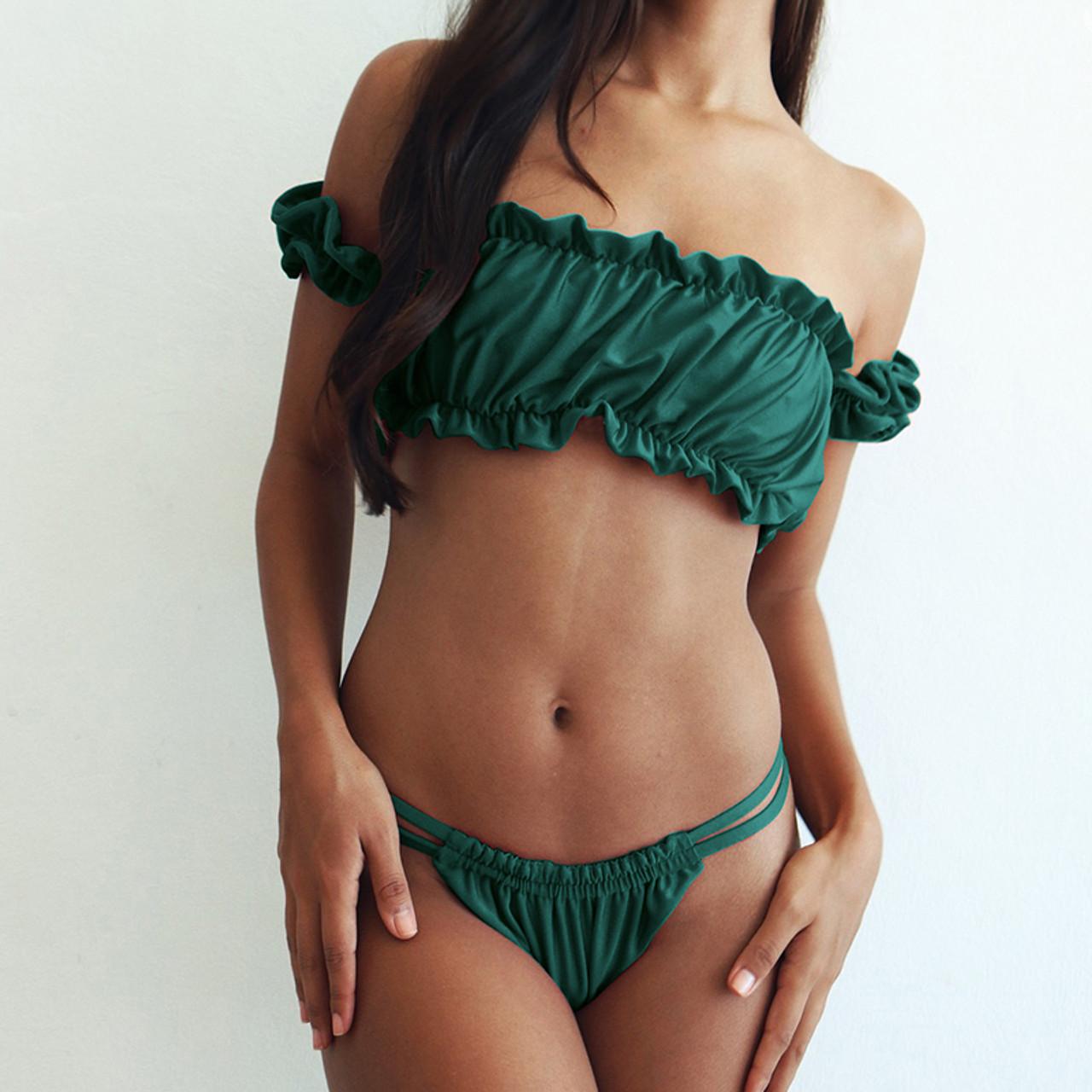504af67bec3 Bandage Brazilian Bikini 2019 swimming suit Women Swimwear Push ...