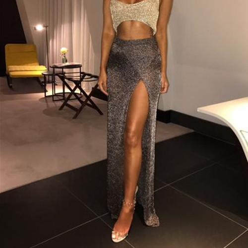 edca55c44c6e Beach Split Skirt 2018 Women Summer Beach Wear Bikini Cover Up Hollow Out  Skirt Bohemia Sexy ...