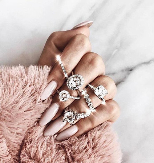 Baguette Ring, diamond