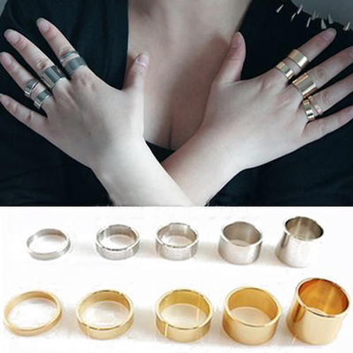 KNUCKLE RING SET OF 5