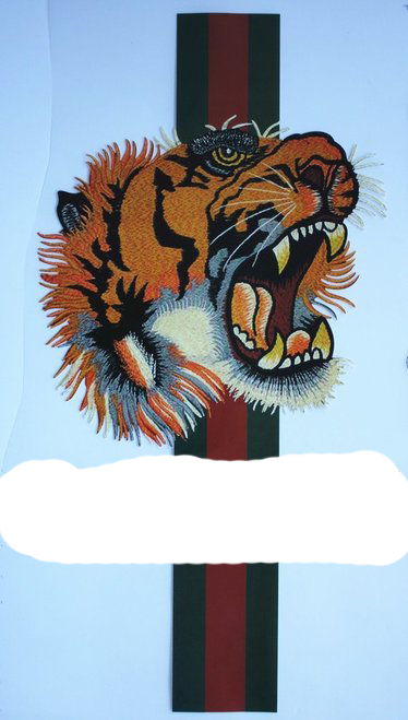 Tiger Transfer - Washable - Grade A Top Quality - Iron On Transfer Heat Transfer - Design For Clothing Shirt