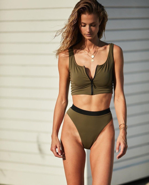 Biquini Sexy Swimsuit High Waist Bikini Set 2019 Mujer Bathing Suit Women Push Up Solid Moda Praia Beach Swimwear