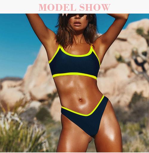Hot Hothot Sports Bikinis 2019 Mujer Summer String Mini Bikini Tanga Swimsuit Separate May Women Swimwear Female Swimming Suit
