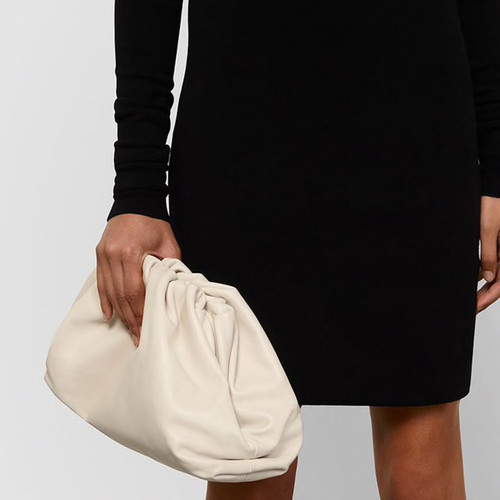 Day Clutch Evening Party Purse Bag Women Large Big Pillow Bag Leather Pouch Handbag 2019 Summer Brand Designer Bags