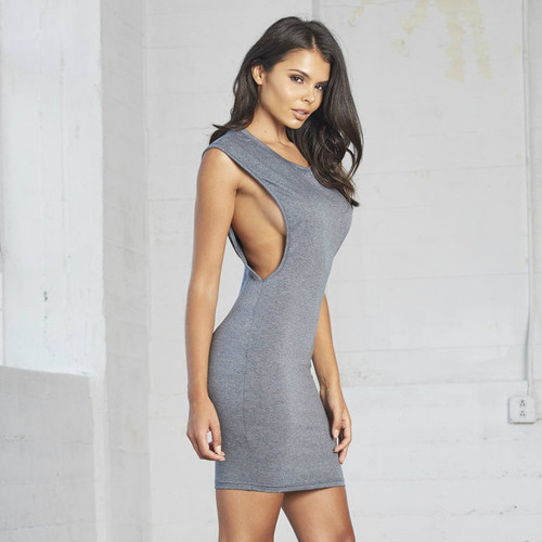 BERMUDA GRAY DRESS