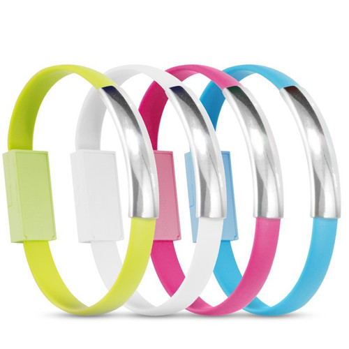USB Bracelet Charger cable for Samsung Galaxy S4 9500 S3 s5 9300 note2