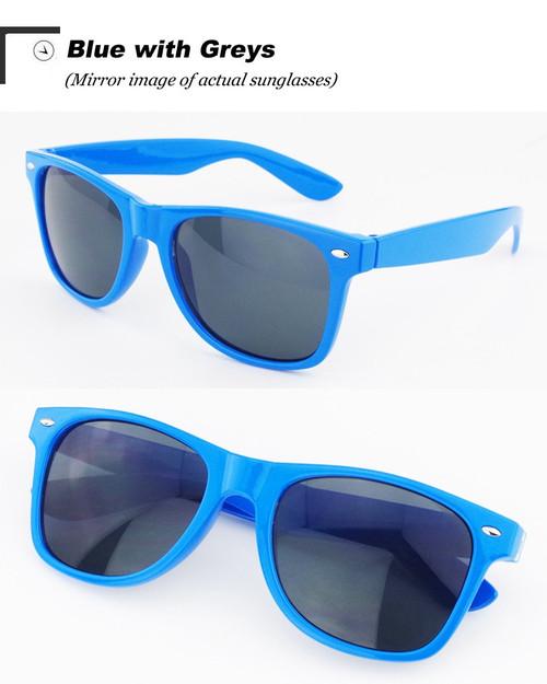 Vintage Classic sun glasses BLUE
