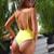 2018 Halter Swimwear One Piece Swimsuit Solid Bathing Suit Women Sexy Piece Swimsuit Halter Monokini Beach Wear
