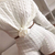 Women Two Pieces Set Knit Oversize Sweatshirt Casual Suits 2 Piece Set Top + Shorts Winter Jumper Knitting Set