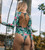 One Piece Swimsuit 2019 New Sexy Long Sleeve Swimwear Women Print Bathing Suit Beach Wear Back Cut Swimming Suits Monokini