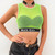Casual Letter Patchwork Stretch Mesh Transparent Sexy Tank Tops Women 2019 Summer Sleeveless Bodycon Crop Top female