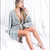 2019 New Silver Sequins Wrap Dress Lacing up Waist Split Slim Fit Women Long sleeve Tea Dresses Bow Tide Vestido Party retrofete dupe