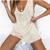 Boho Apricot Knitted Suits Women Loose Tops and Shorts Elegant 2 Pieces Set Summer High Waist Beach Bikini Romper 2020