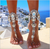 wantmychic | Chunky Flower Ankle Bracelet pendant Statement