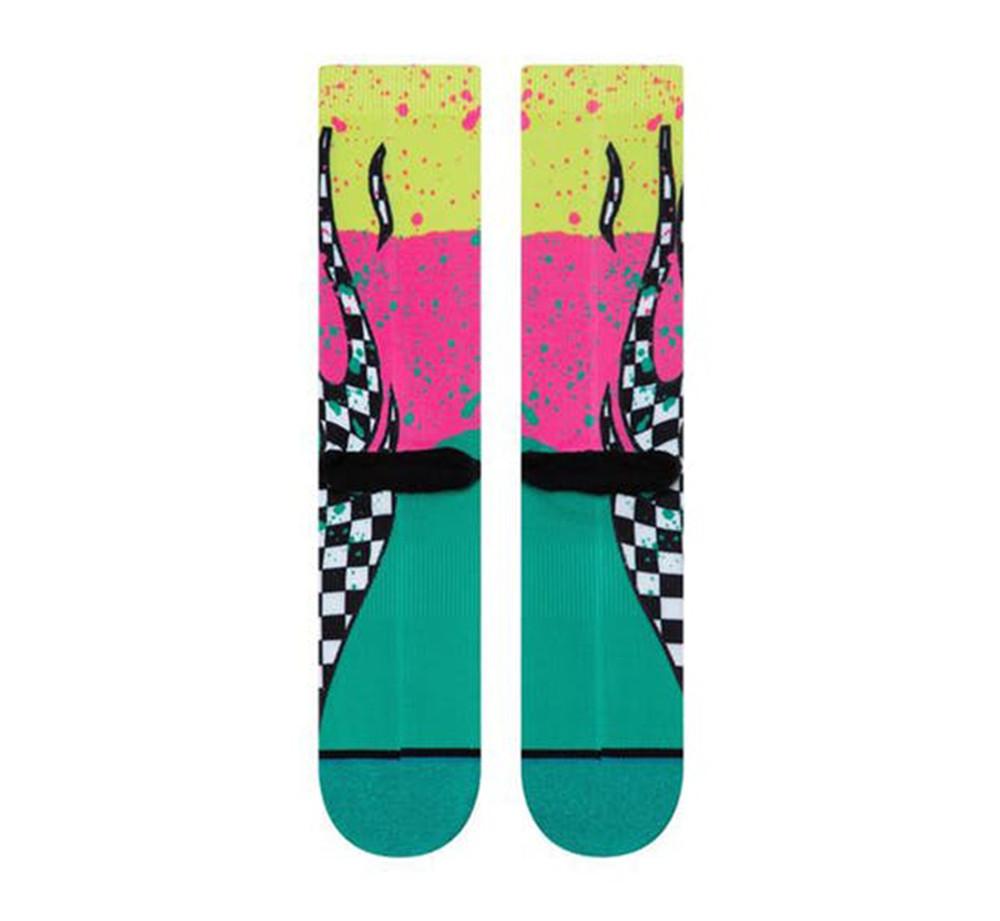 Stance Flame Blocks Socks