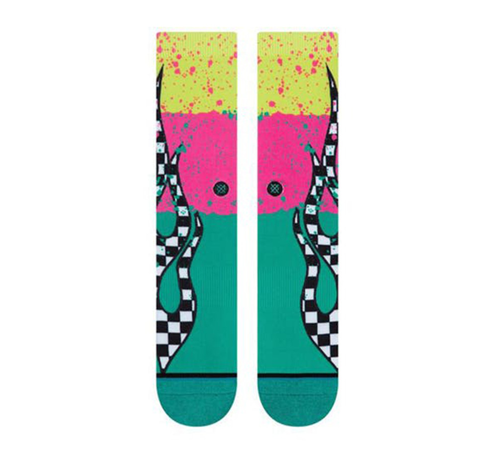 Stance Flame Blocks Socks