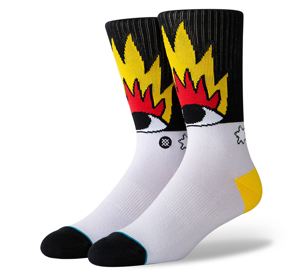 Stance Fire and Eyes Sock