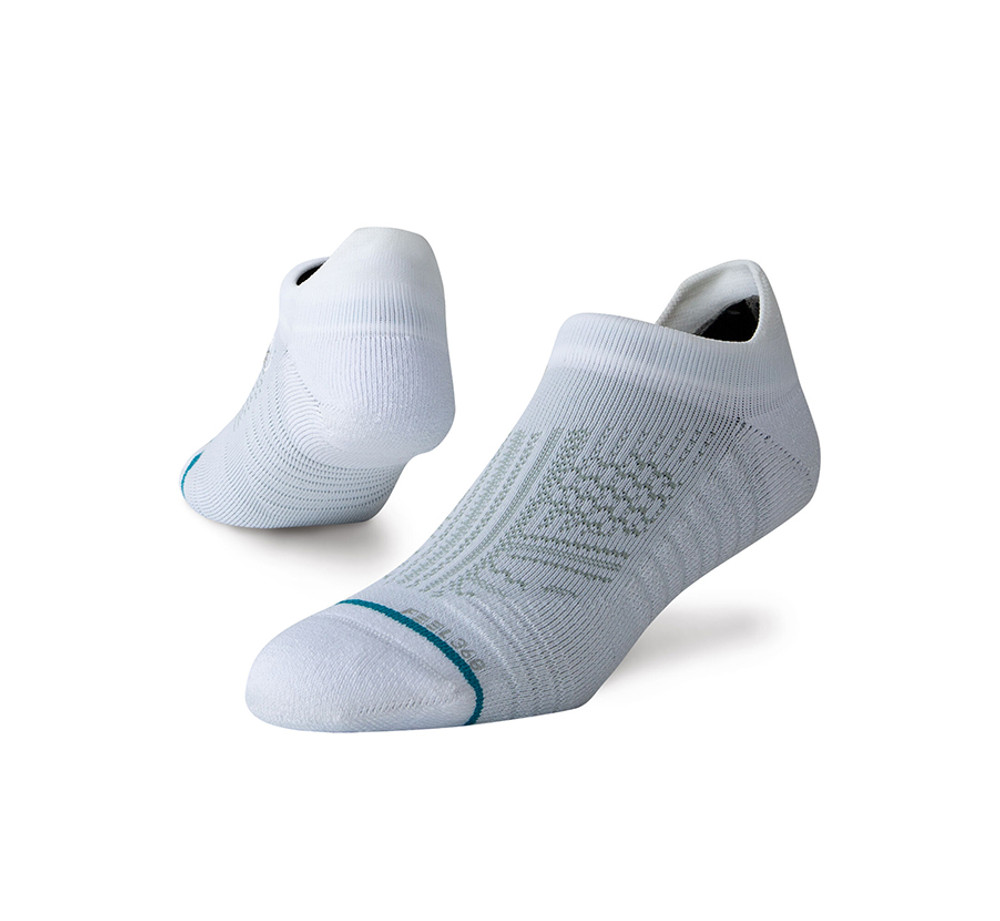 Stance Uncommon Train Tab Socks (White)