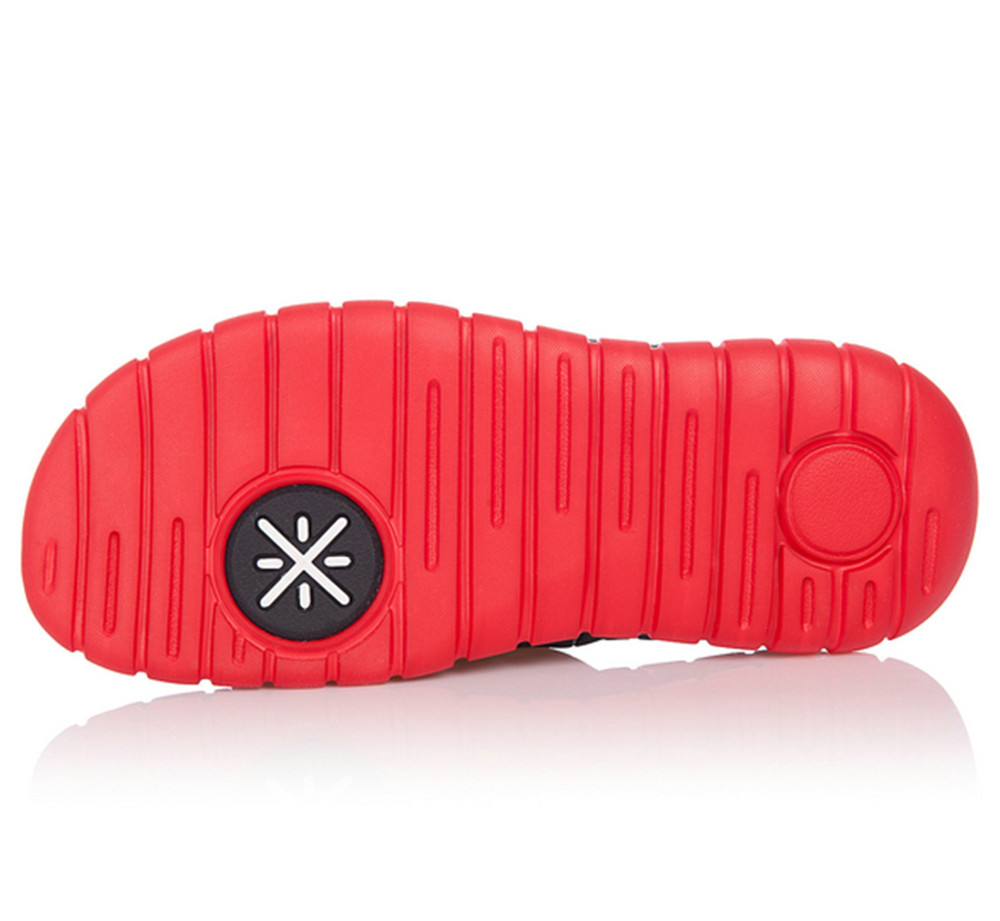 Wade Uncage Slipper Red Black