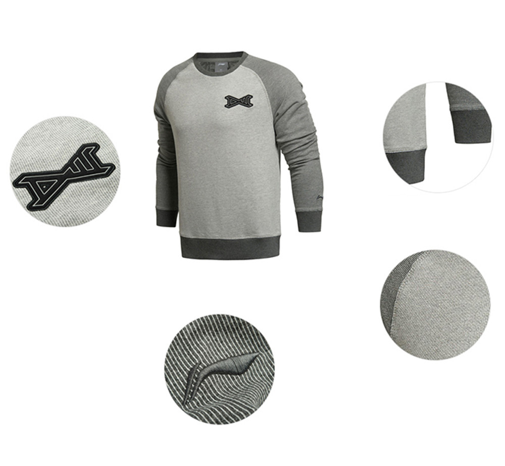 Wade Lifestyle Sweater Grey/Grey AWDK087-3