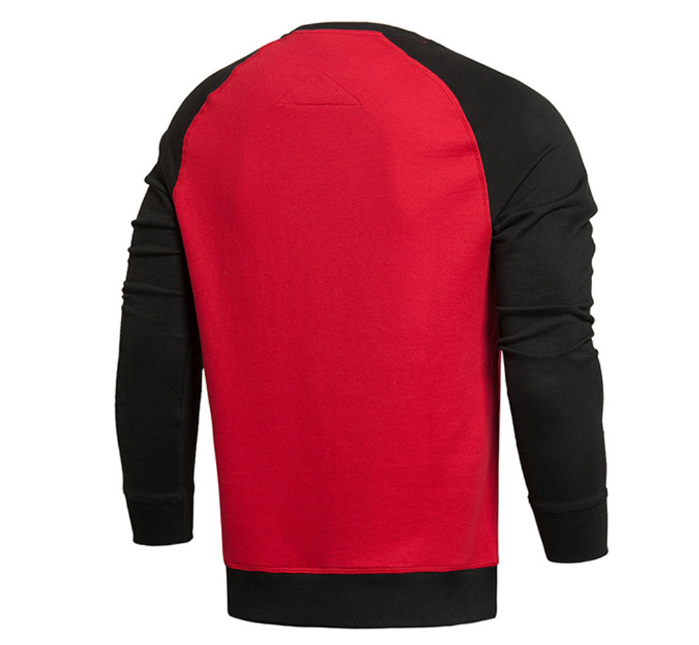 Wade Lifestyle Sweater Black/Red AWDK087-6