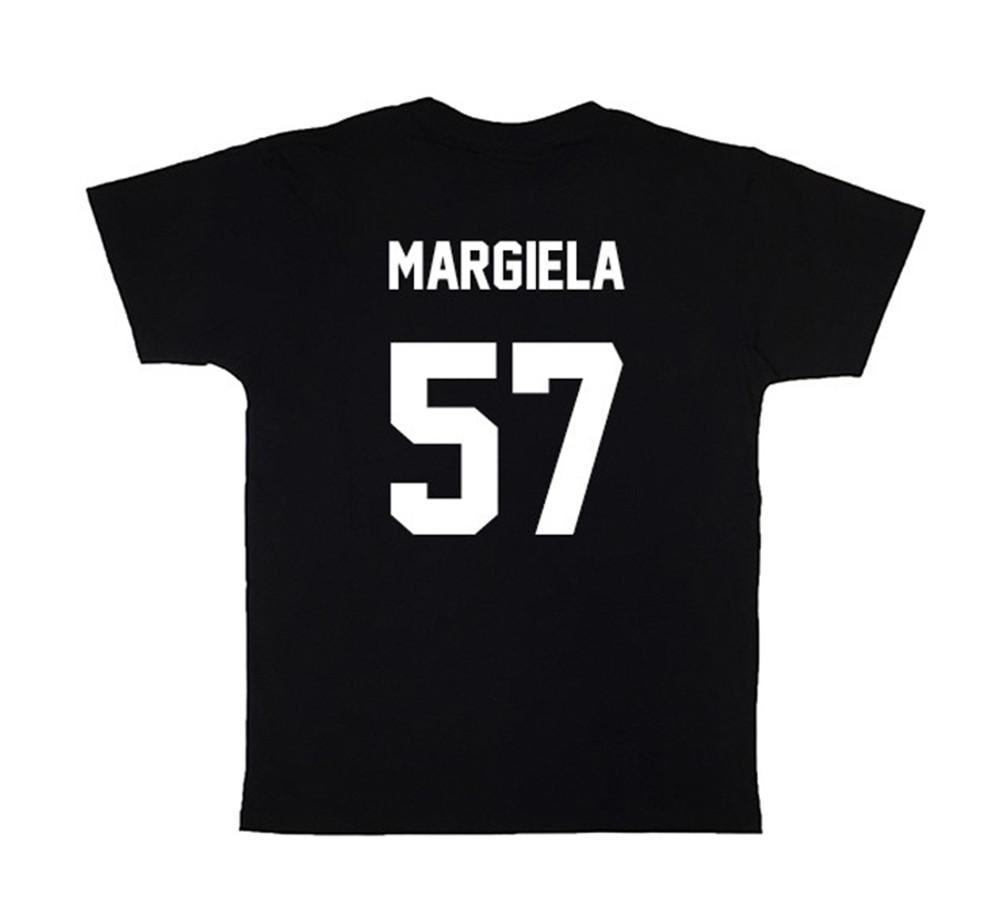 LES (ART)ISTS Black MARGIELA57 Football Tee